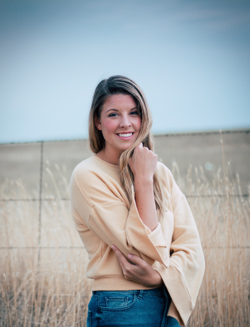 Holly Canon Travel and Lifestyle Blog Lady Jones Denver Fall Sweater Bearded Bousman Photography