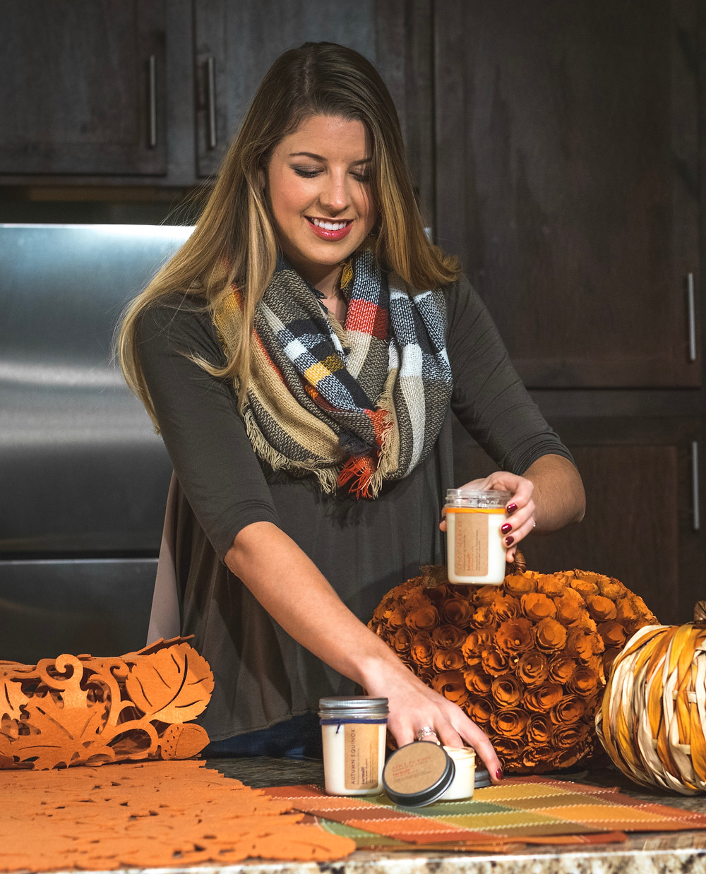 Holly Canon Blog Travel and Lifestyle Fall Home Karmalit Candles Denver Colorado Blogger