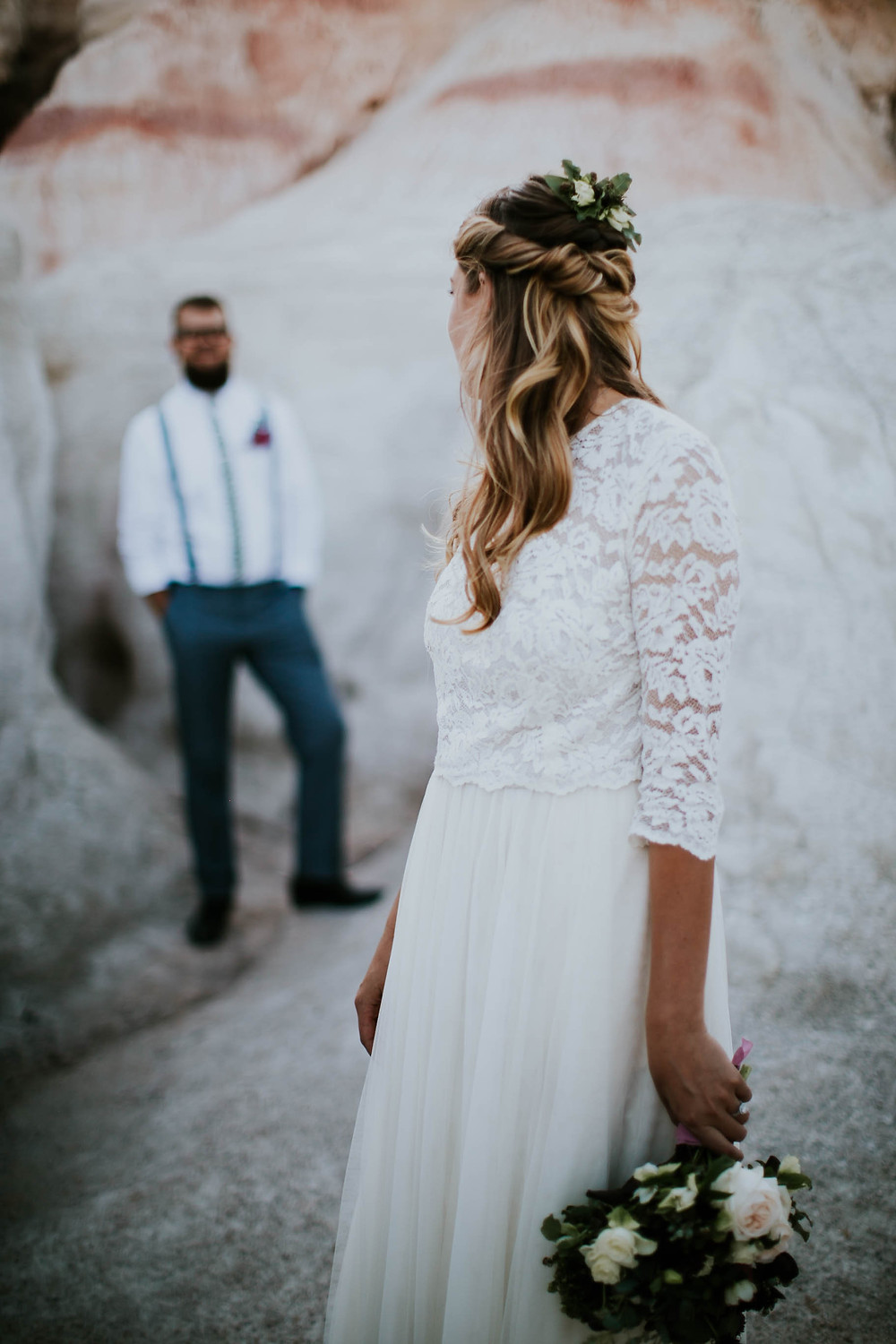 Holly Canon Travel and Lifestyle Blog Engagement Photos Ashlee Crowden Photo MJM Designs LLC Blue Bridal Boutique Rylie Meyers Wedding Hair Floral Dress Photography