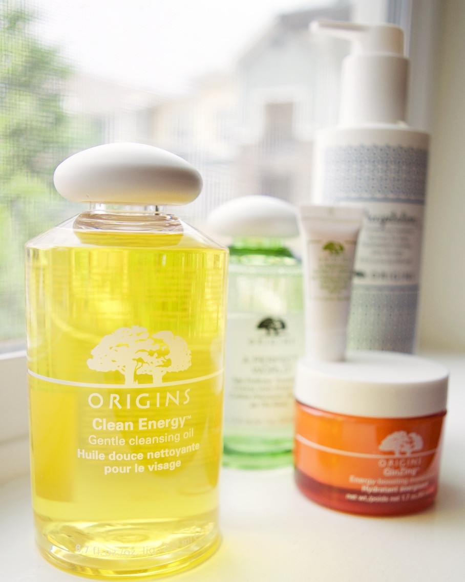 Holly Canon Travel and Lifestyle Blog Origins Skincare Products