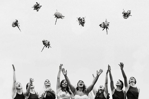 The conservatory - fun wedding photos -