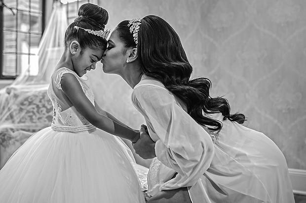 Bride and daughter wedding photos - Aly
