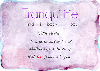 Tranquilitie Staffordshire Complementary Therapy