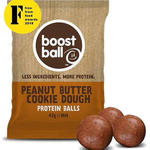 Boostball Peanut Butter Cookie Dough Protein balls