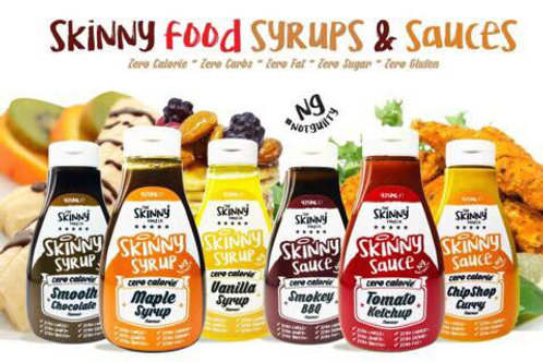 Skinny Syrups and Sauces