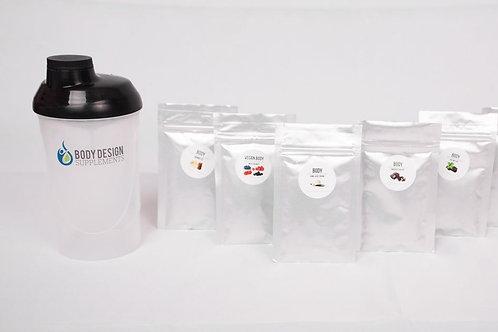 Shaker Sample Set (rep)