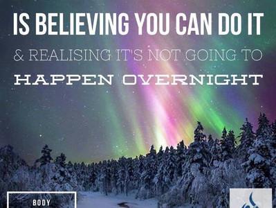 Believing Is Half The Battle