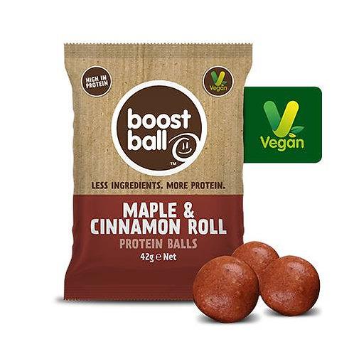 Boostball Maple & Cinnamon Roll Protein balls