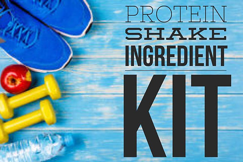 Protein Shake Ingredient Kit