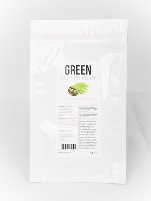 Green Coffee Bean Fat Burning Supplement 30 pack