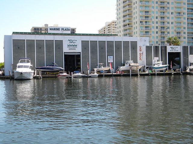 Boat Dry Storage Marina