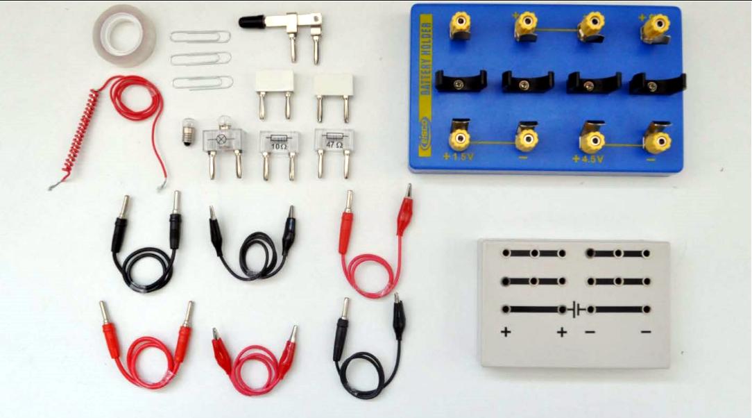 ELE-KIT  Electricity kit for physics