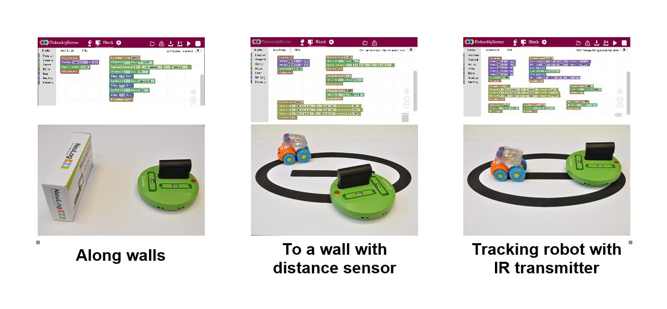 Sense Modular Robot positions2