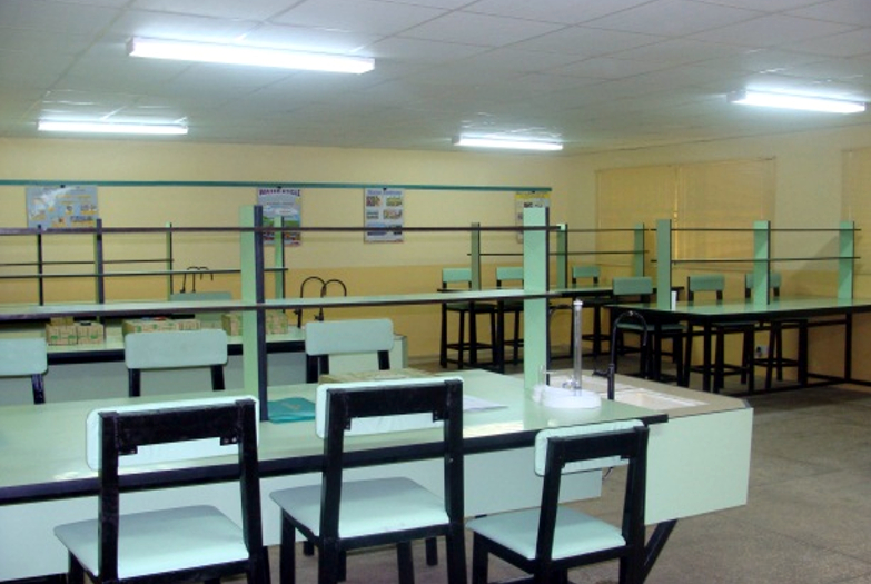 The new renovated laboratory at the center