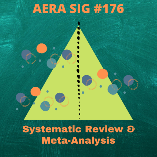 SIG Webinar Series: Special Topics in Meta-Analysis