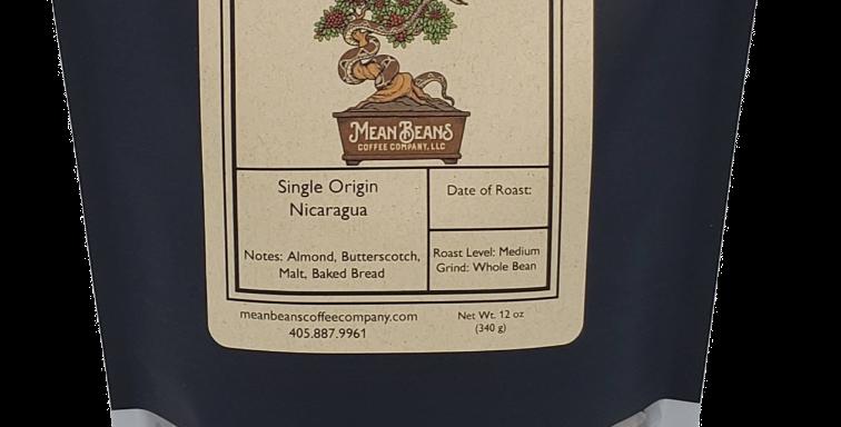 Single Origin Nicaraguan Coffee - Light/Medium Roast
