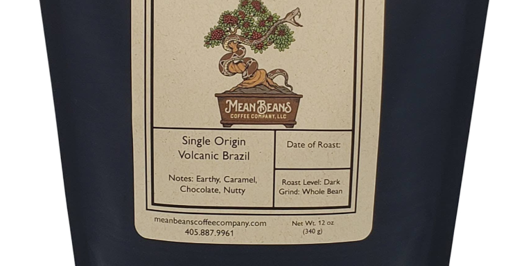 Single Origin Volcanic Brazilian Coffee - Dark Roast