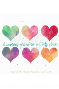 Watercolor Valentine's Heart