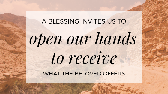 A Blessing Invites Us