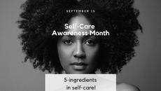 Self-Care Awareness Month In September