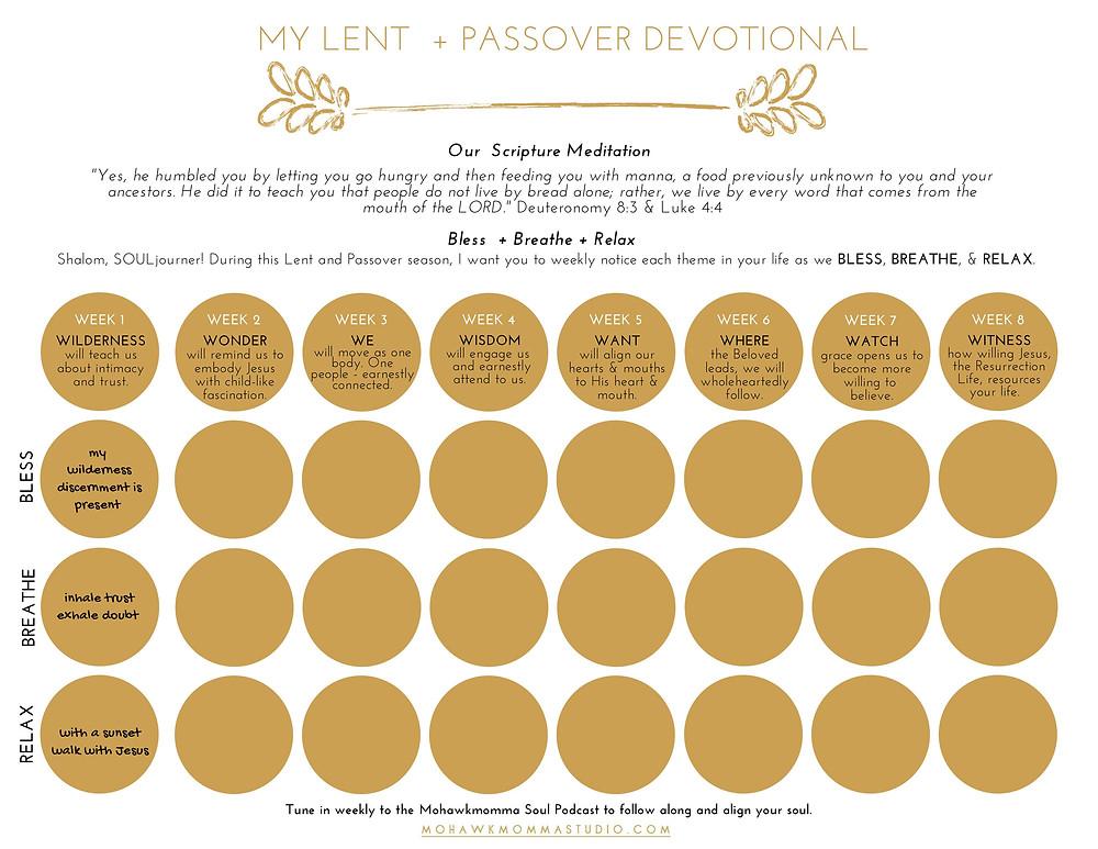 Lent 8-week Devotional