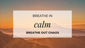 Lent Breathe In Presence