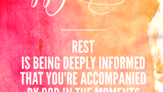 Soul Care Reflection: We Are Accompanied