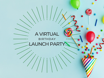 Social Media REimagined - It's a Virtual Birthday Launch Party!