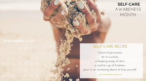 Self-Care Awareness Calendar