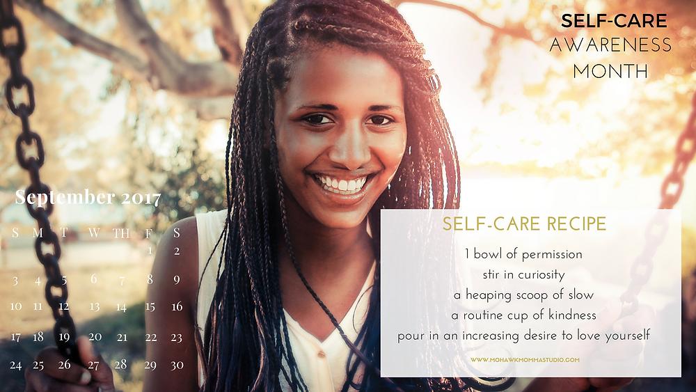 Self-Care Awareness Calendar
