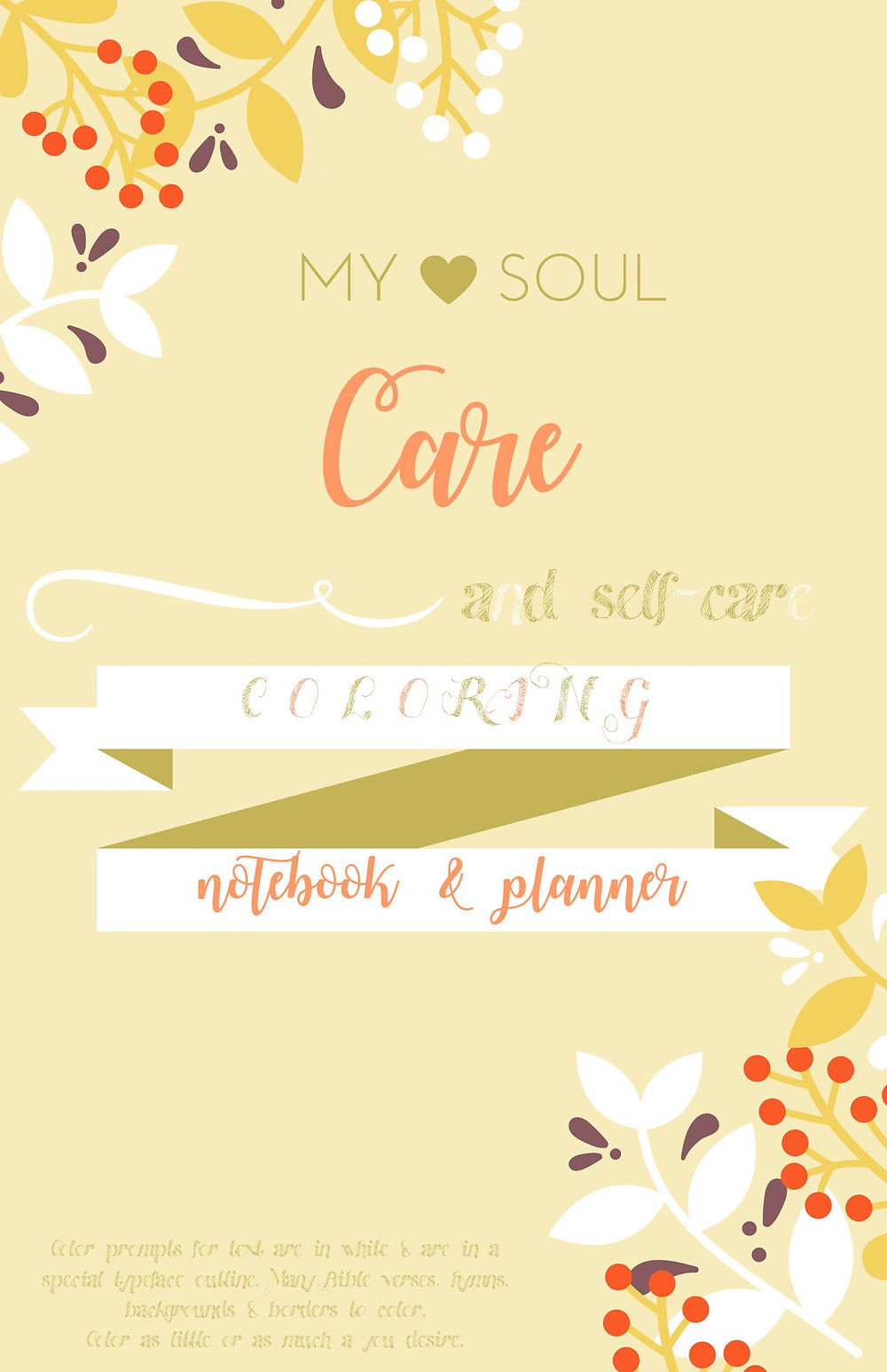 Sample Soul Care Coloring Notebook_Planner Cover