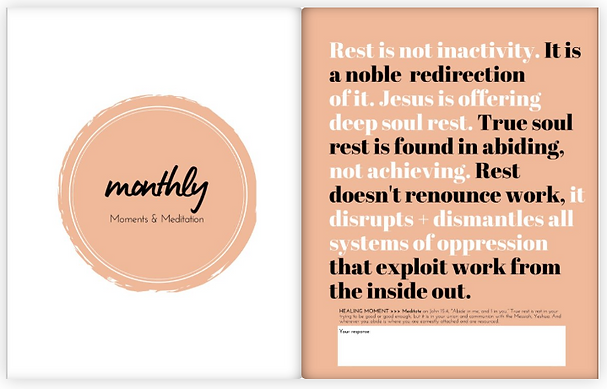 Monthly Rest Quote