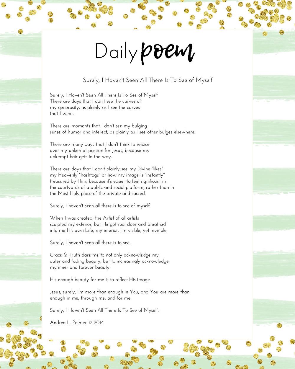 Daily Poem in Sabbath Rhythms Planner