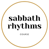 sabbath rhythms Course Gold Circle.png