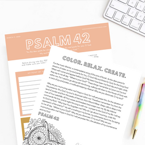 Centering Down Meditation Psalm 42