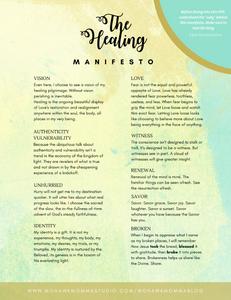 The Healing Manifesto PDF 1/2
