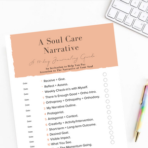 Download The Soul Care Narrative Journaling Guide