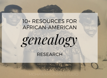 10+ Resources for African-American Genealogy Research