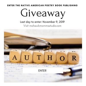Native American Poetry Book Publishing Giveaway