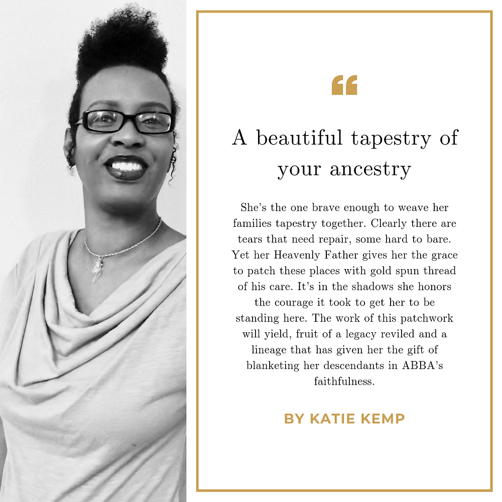 Tapestry of your ancestry by Katie Kemp