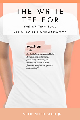 Writer's Tee Shirt For Women
