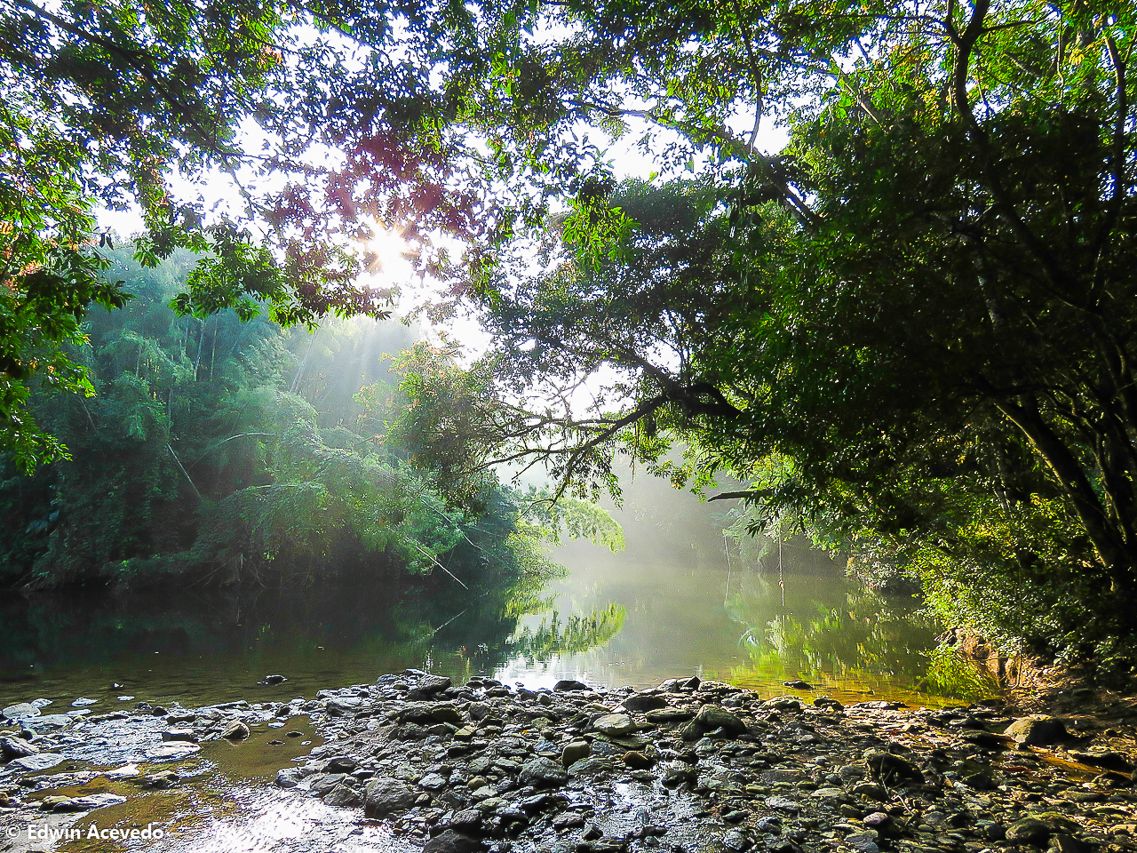 The Río Claro