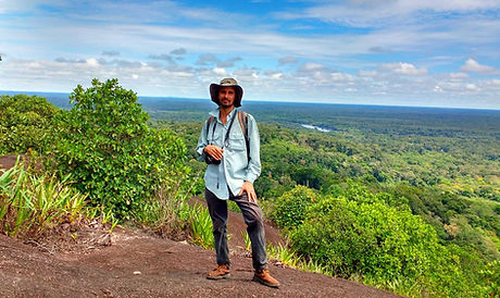 Edwin Acevedo, tour leader guide in Native Birding Colombia, birdwatching/birding guide in Colombia.