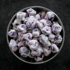 Frozen Yoghurt Blueberries