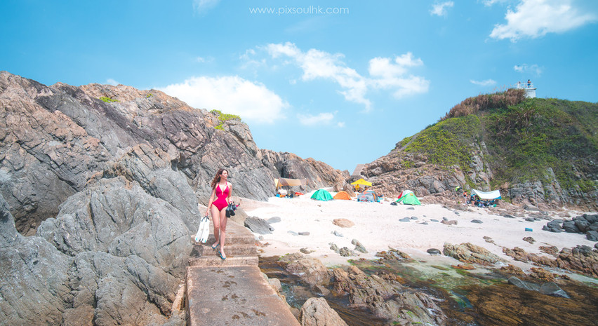 黃茅洲小沙灘