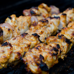 Middle Eastern Chicken Kebabs