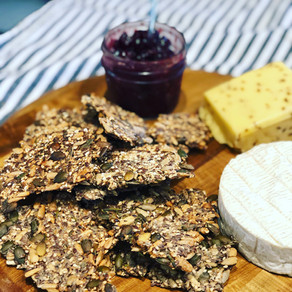Rosemary Seed Crackers