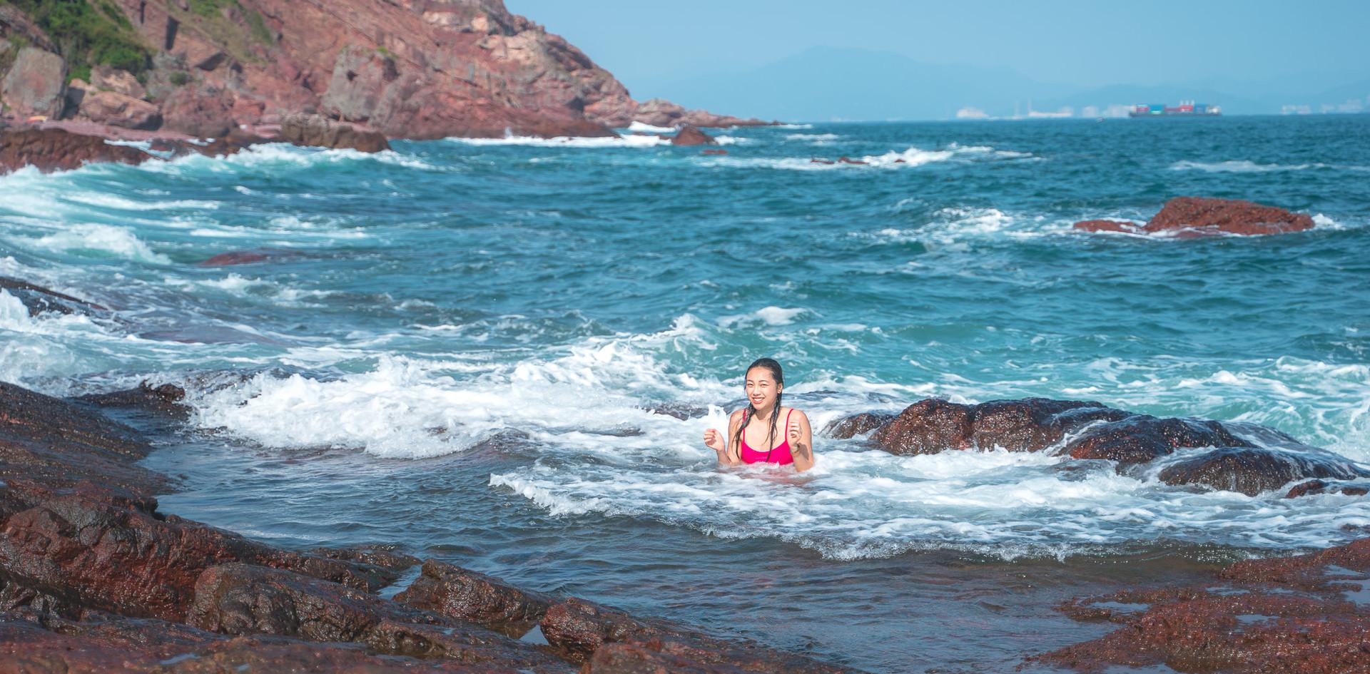 赤洲 海水浴池