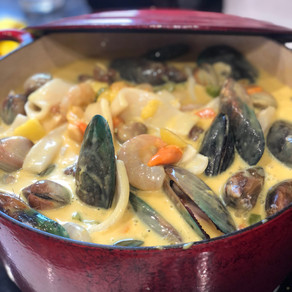 The Best Seafood Chowder Ever!