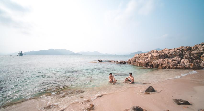 甕缸灣 小灘